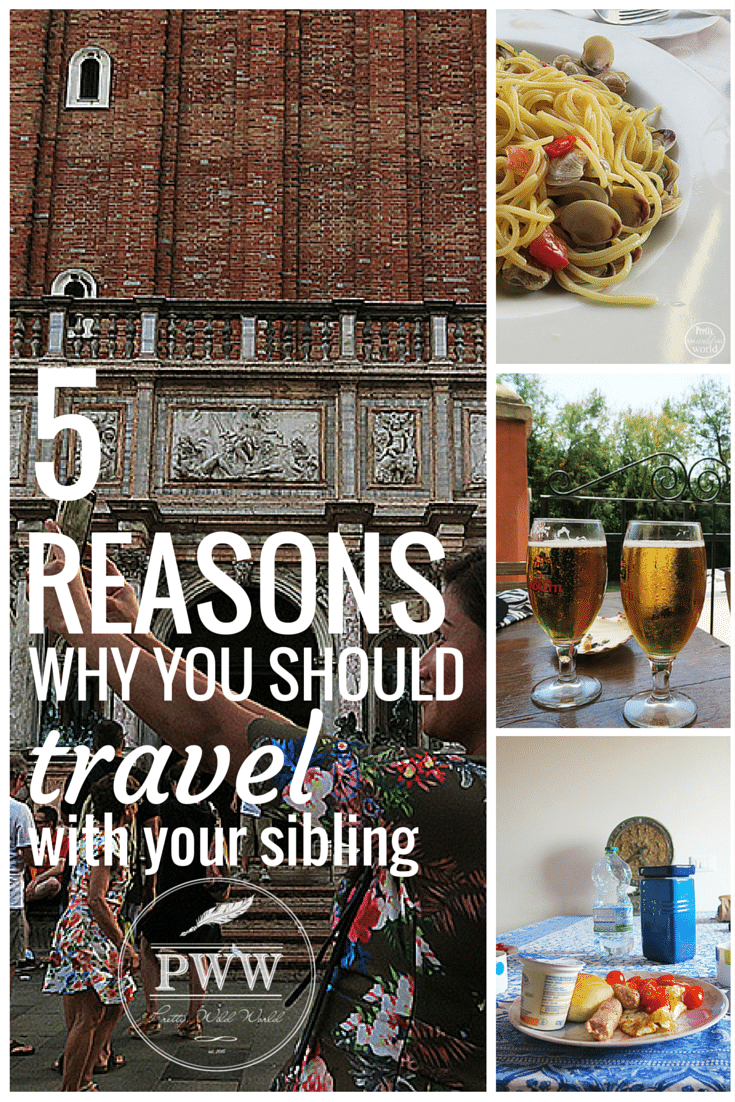 5 reasons why you should travel with your siblings