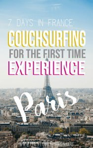 Here's my CouchSurfing experience from the first time in Paris with my buddy. Our travel experience in Paris was amazing and it wont be the same without our wonderful CouchSurfing host! Want to know more about our experience? Read on and learn!