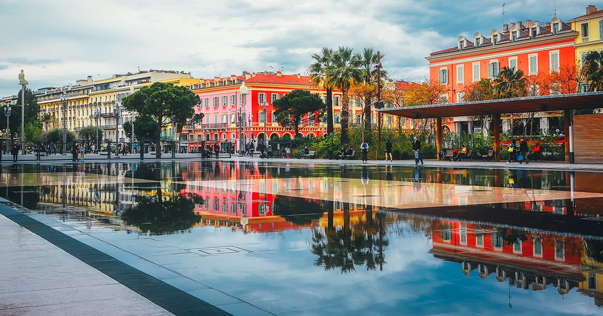 A Week in French Riviera Travel Experience – Exploring Nice with Friends Schema Photo