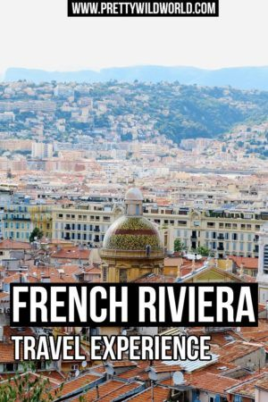 You want to visit France's French Riviera? Travel and see the beautiful Mediterranean sea? Read my travel experience or pin this for later read!