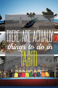 things to do in tahiti