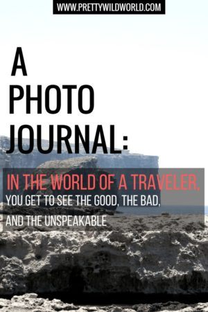 in the world of a traveler