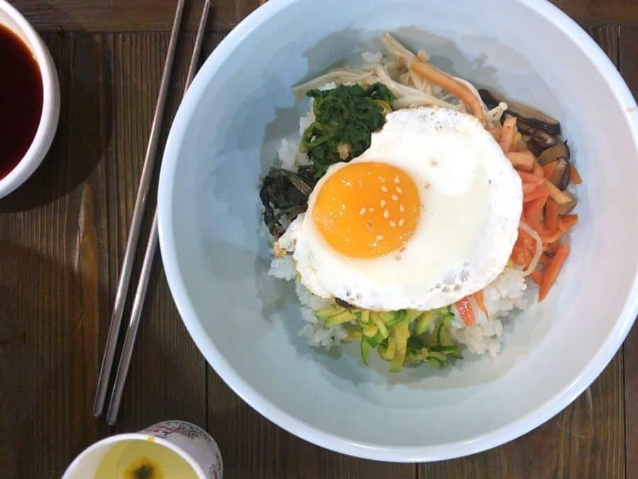 travelers favorite food bibimbap
