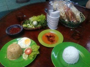 travelers favorite food nasi goreng