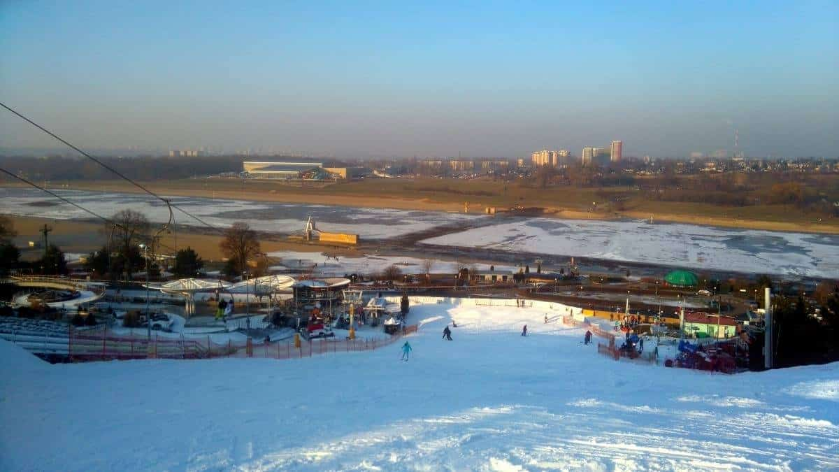 Malta Ski Poznań in winter