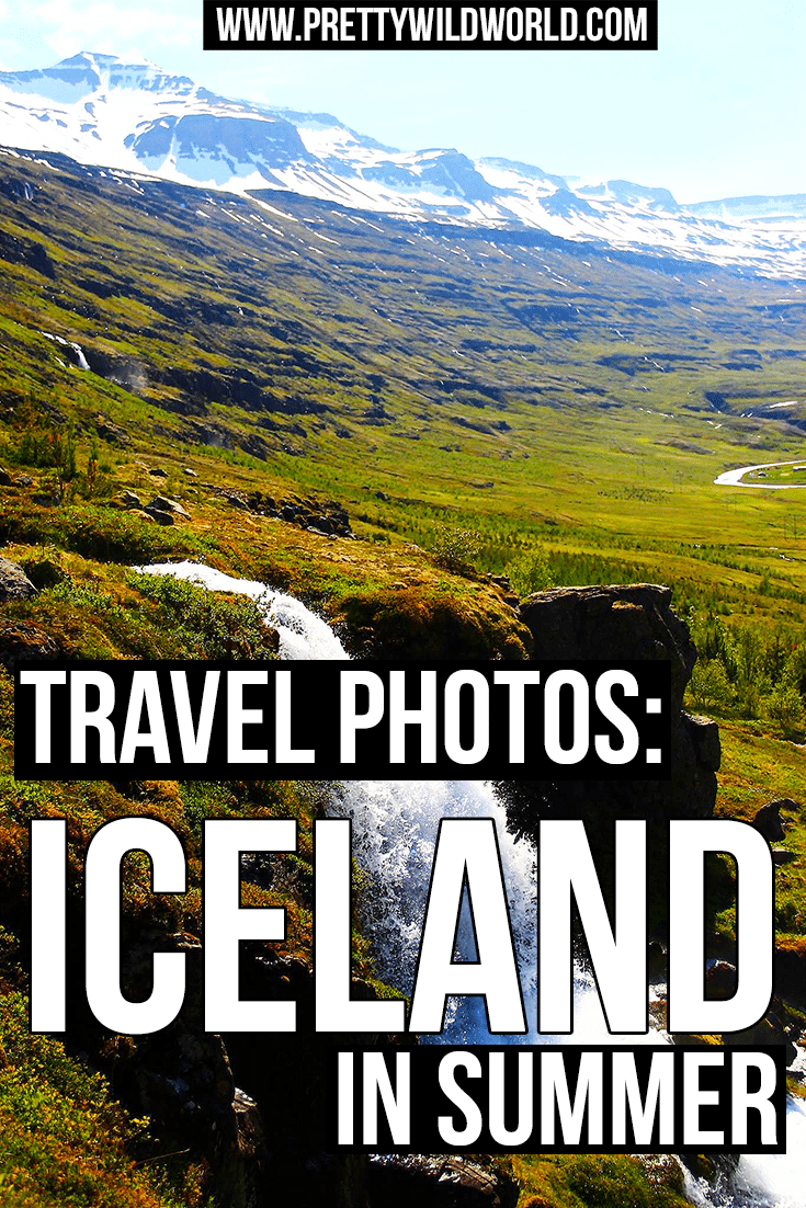 Want to travel to Iceland? Here are 20 beautiful photos of Iceland in summer hiking and road trip that will inspire and make you pack your bags and go! Check it out or pin for later! ©Saara Hopponen