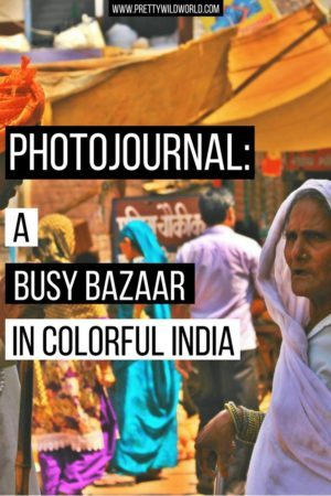 A Photojournal entry by ShaTaraTravels.com who captured a beautiful photograph in a bazaar in India. Read Shara's story now or pin for later read!