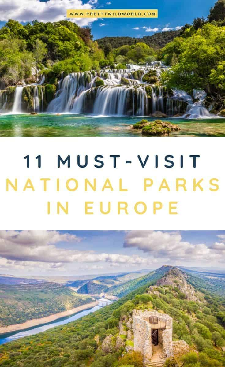 National parks in Europe | Looking for a place to travel to for hiking, camping, and outdoor activities with beautiful nature? Read this post now or pin it for later read! #nationalpark #camping #hiking #outdoors #europe #naturalwonders #traveldestinations #traveltips #bucketlisttravel #travelideas #travelguide #amazingdestinations #traveltheworld