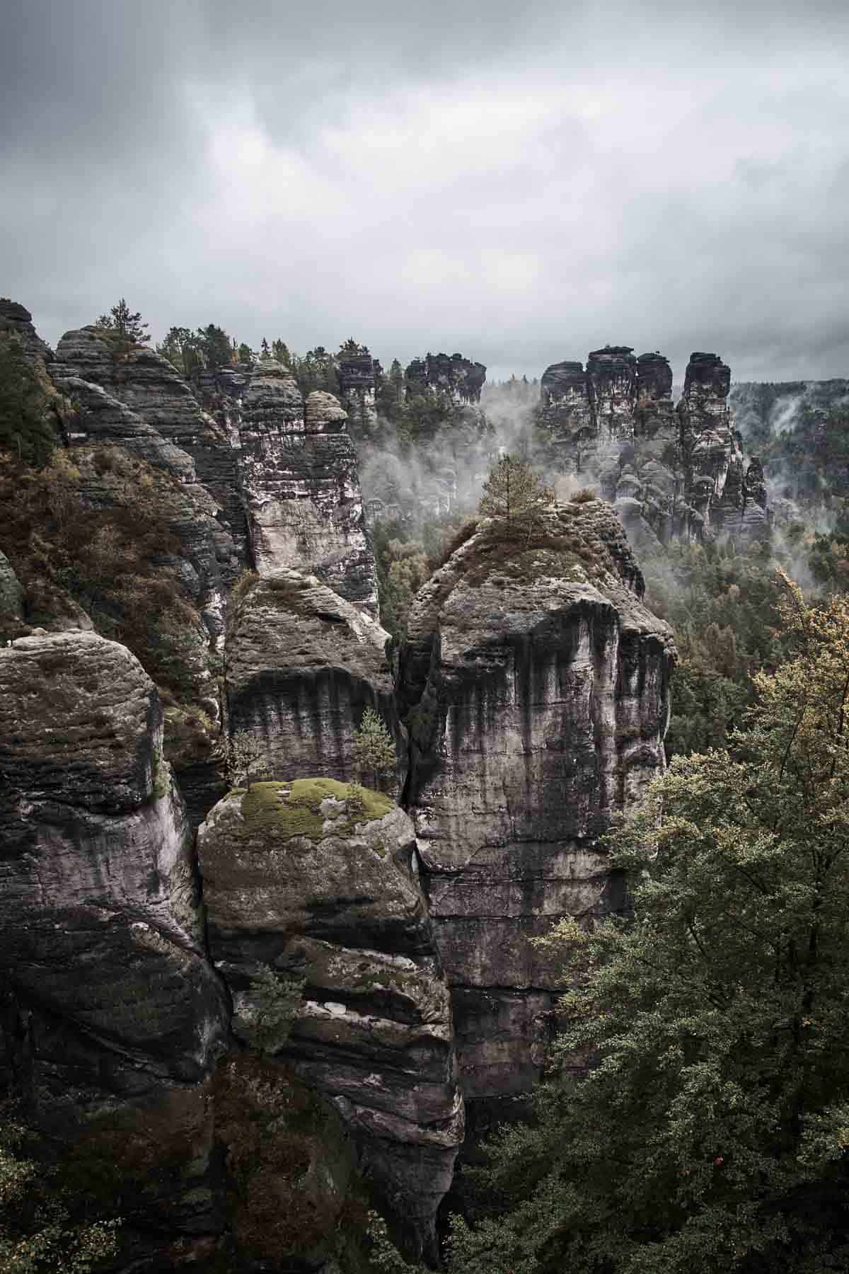 national parks to visit in europe saxon switzerland national park germany