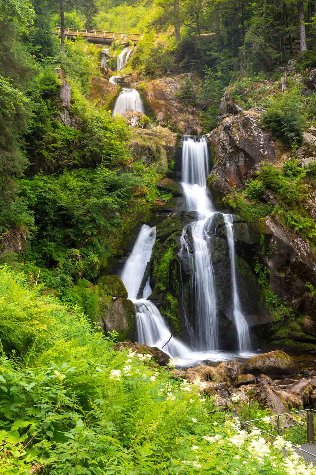national parks to visit in europe triberg falls black forest germany