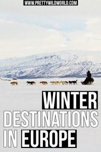 Winter in Europe | Winter Holiday | Winter Destination | Skii Season | Skii Holiday | Beautiful Winter | European Winter