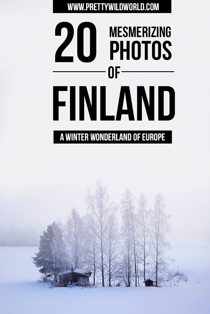 Interest to see how Finland is in winter? Check out this out of this world winter wonderland!