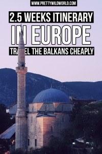 Europe Itinerary | Travel the Balkans | Sarajevo | Bosnia and Herzegovina | Croatia | Zagreb | Plitvice Lakes National Park | Slovenia | Bela Krajina | Europe Countryside