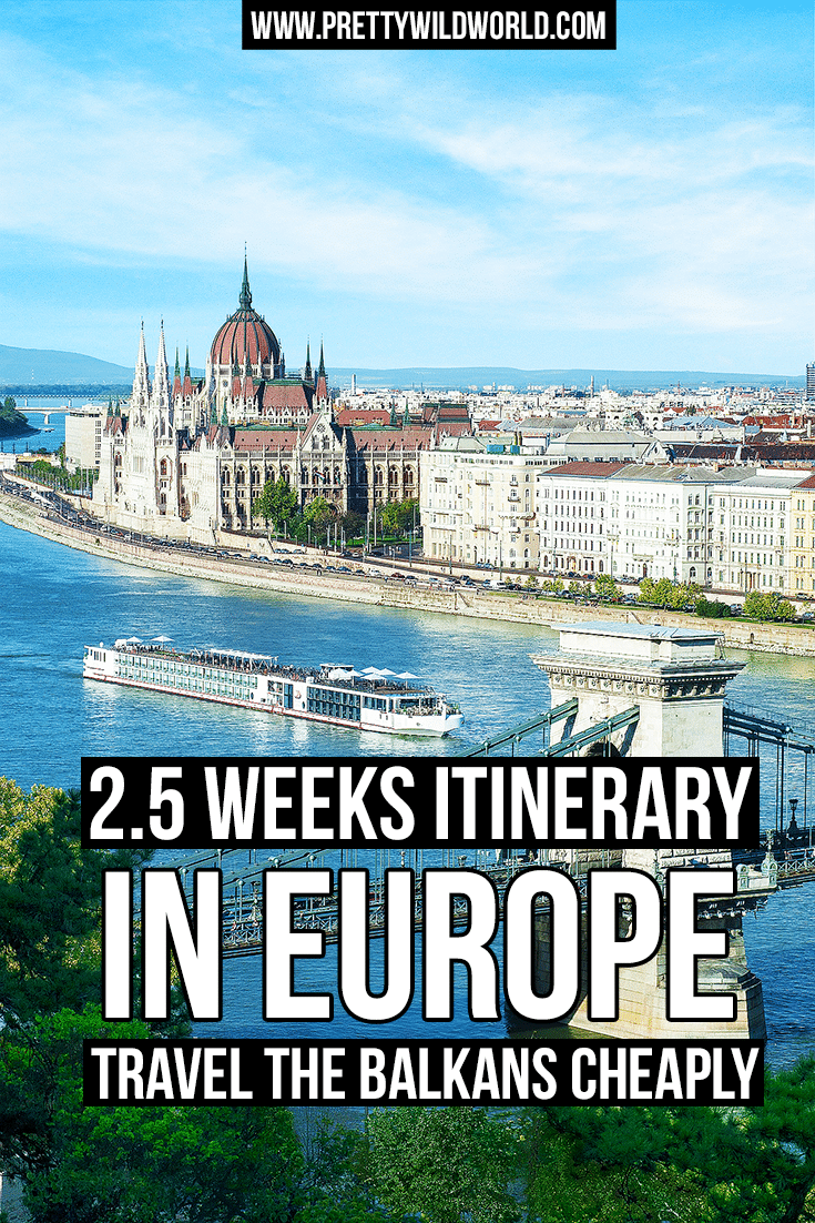 Europe Itinerary | Travel the Balkans | Sarajevo | Bosnia and Herzegovina | Croatia | Zagreb | Plitvice Lakes National Park | Slovenia | Bela Krajina | Europe Countryside
