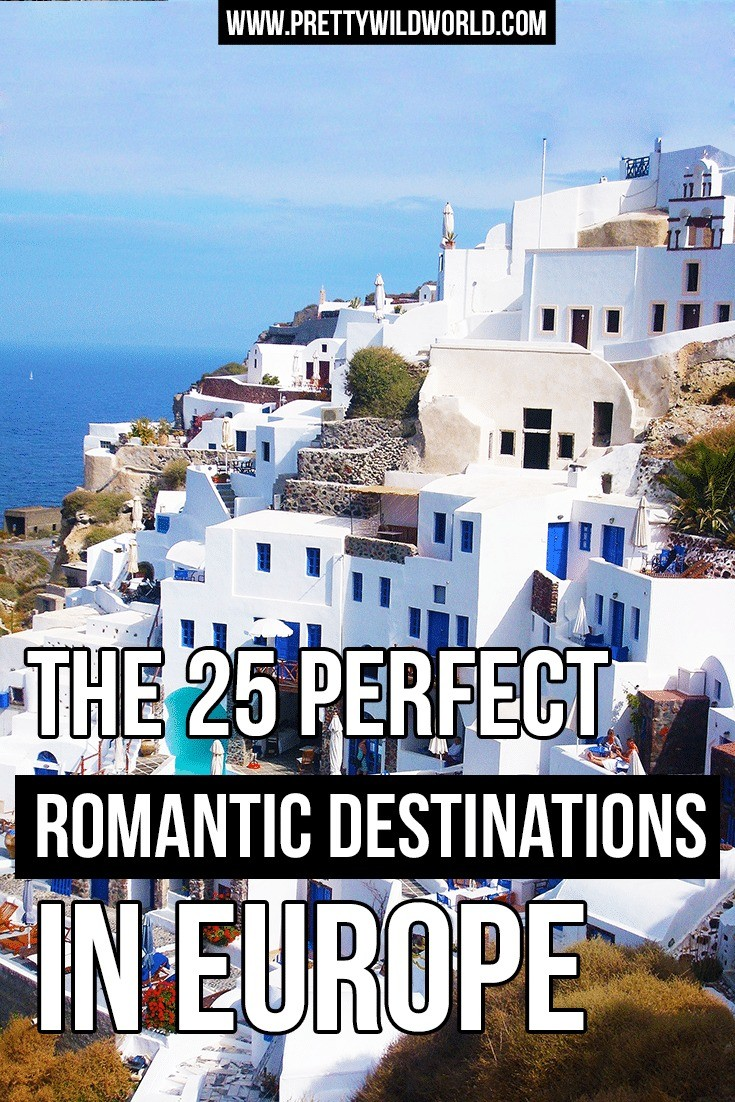 Europe is a goldmine for romantic destination and be ready to fall in love with the place once you visit. Check it out or pin for later!
