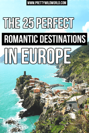 In need for a weekend getaway? Here's an inspiration for your next holiday at some of Europe's most romantic destinations!