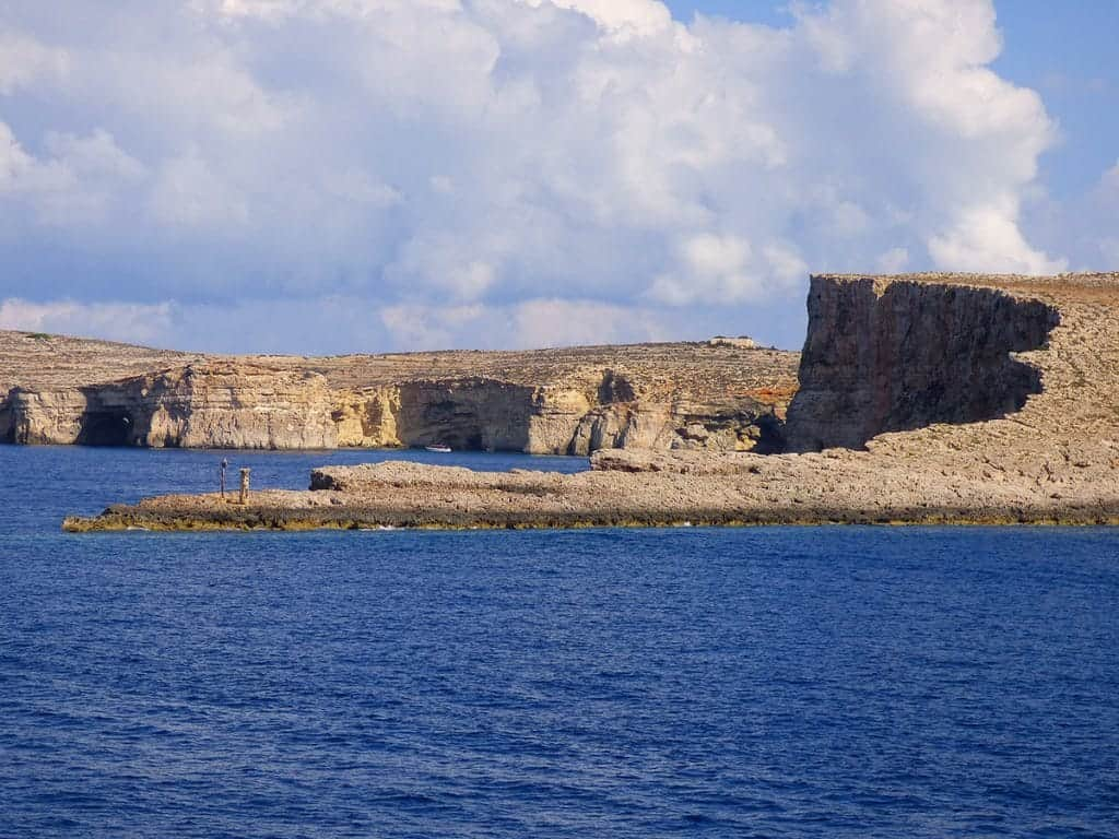 Best places in Malta Comino Island