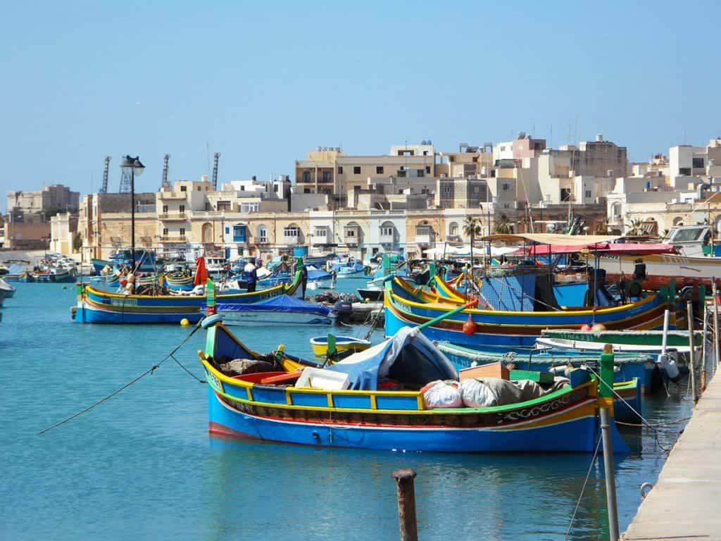 places to visit in Malta Marsaxlokk