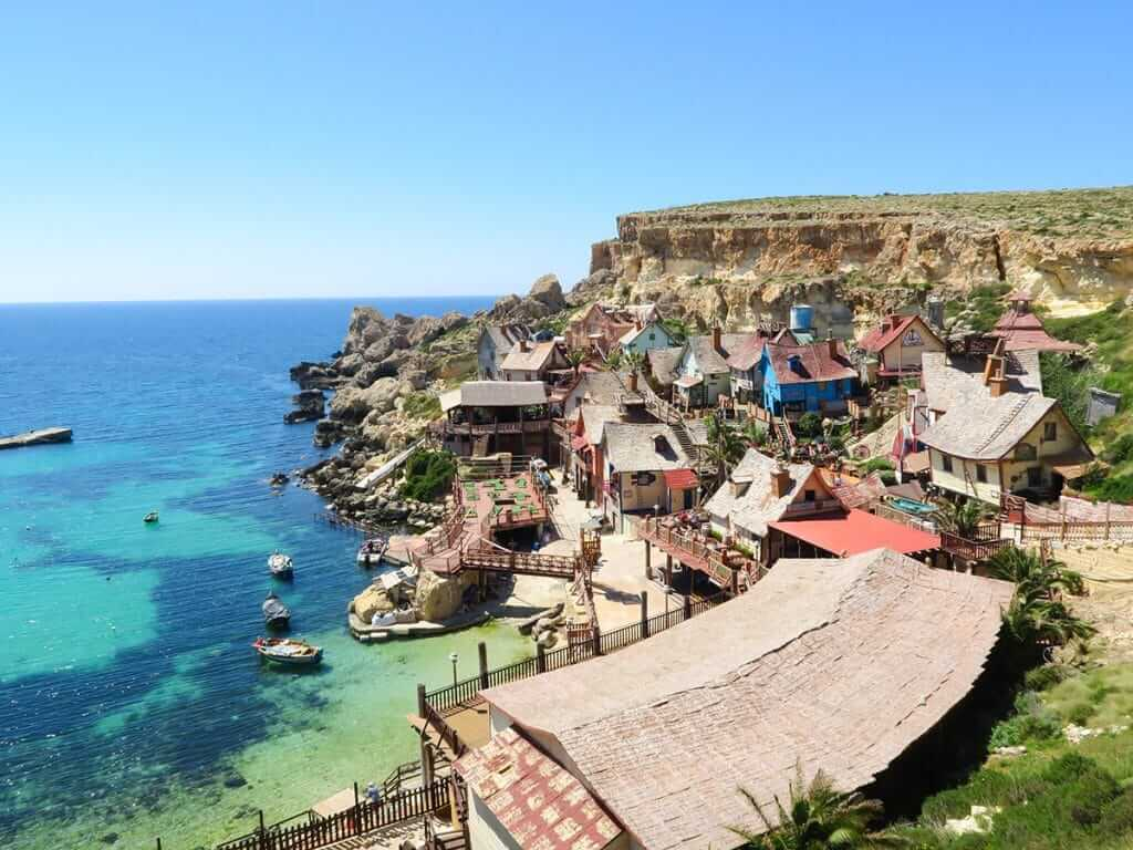 Places to visit in Malta Popeyes Village