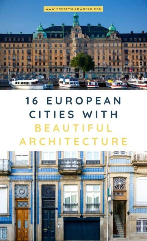 Architecture in Europe | Are you interested in beautiful structural designs? Read this post now and learn more about stunning buildings in Europe! #europe #architecture #travel #traveldestinations #traveltips #bucketlisttravel #travelideas #travelguide #amazingdestinations #traveltheworld