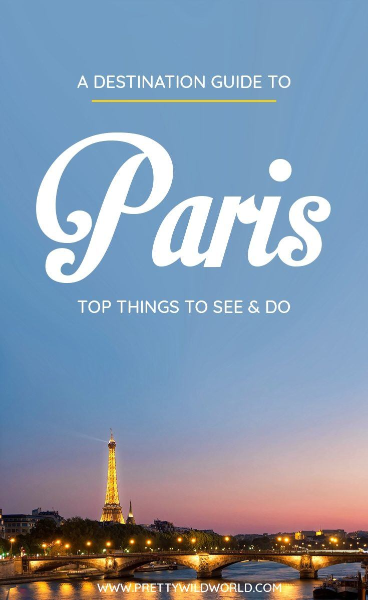Planning a trip to the beautiful city of Paris, a lovely city in France? Check out this first-timer's guide to Paris that includes all the top things to do in Paris, places to go in Paris, places to see in Paris, what to see in Paris, and places to stay in Paris. Save this Paris travel guide in your travel board so you'll find it later! #paris #france # #travel #travelblog