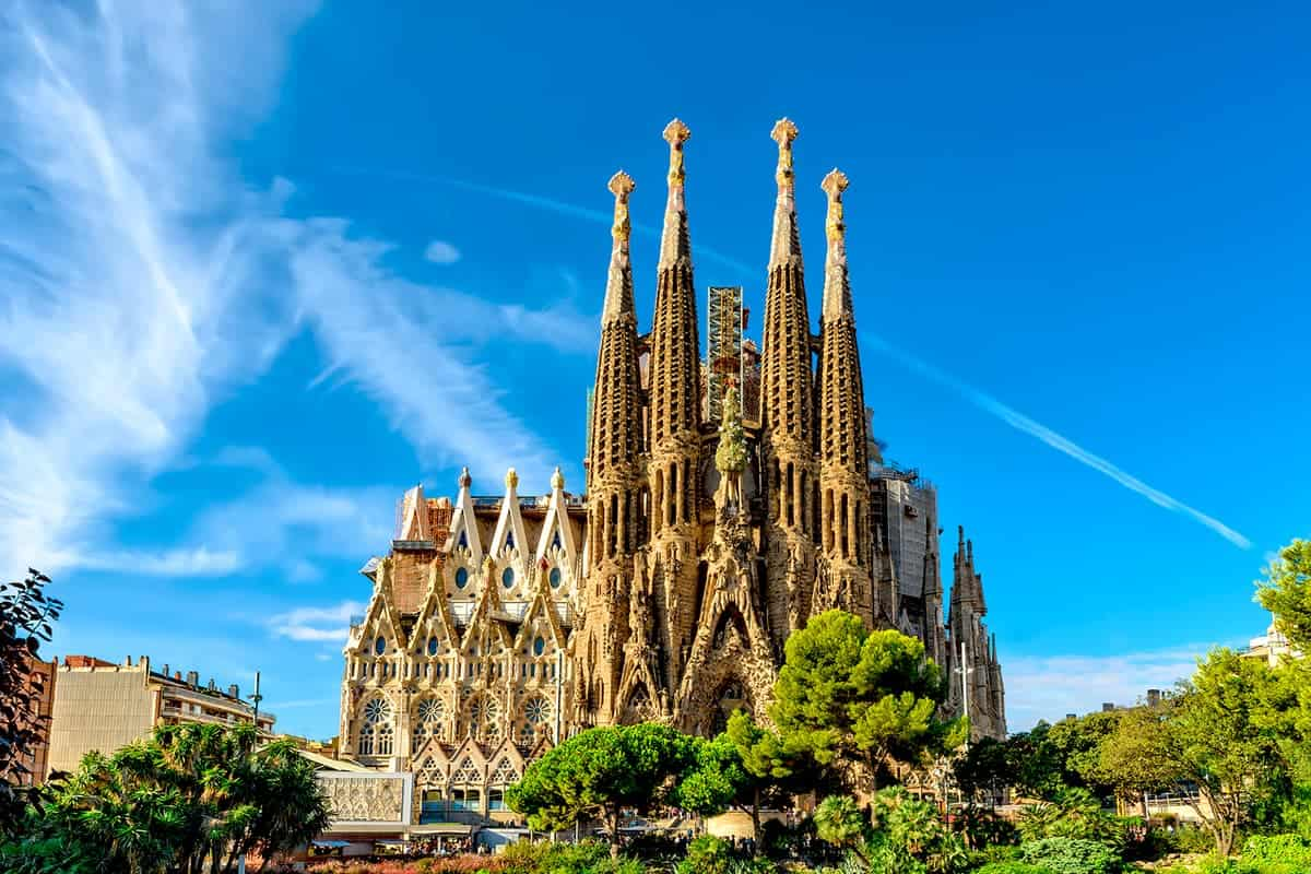 Sagrada Familia is one of the best architecture in Europe – Barcelona, Spain