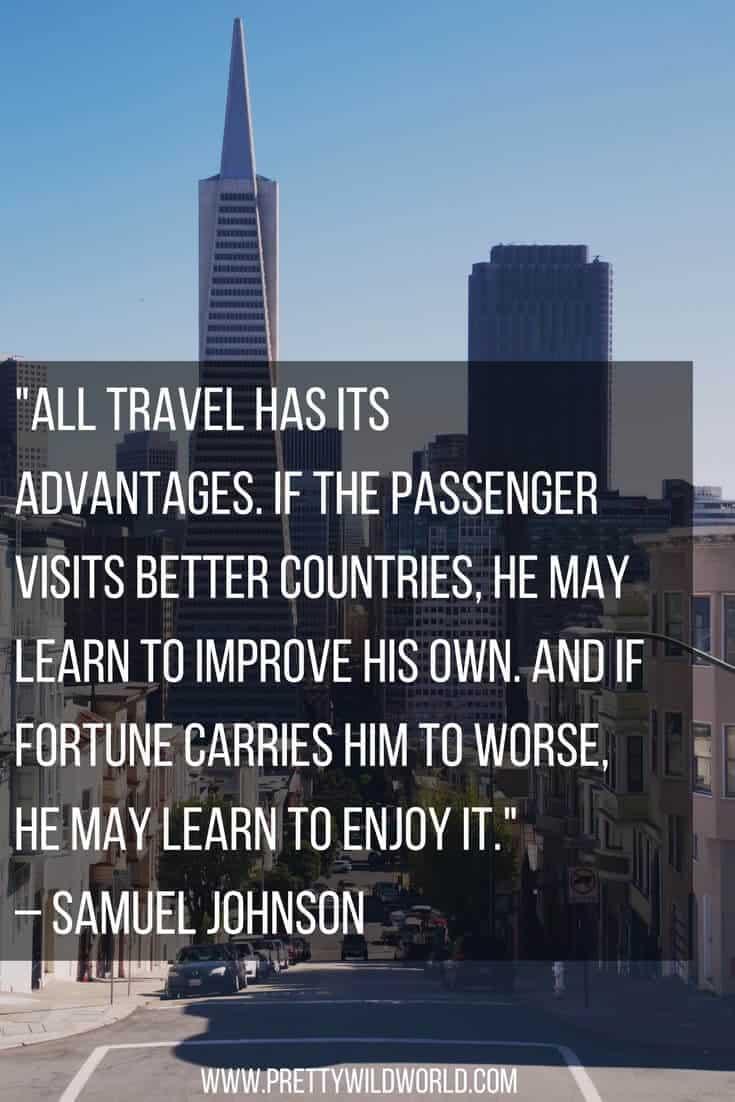 Samuel Johnson travel quote
