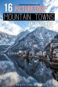 Picturesque Mountain Towns in Europe | European destinations | Small villages in Europe | Places to go in Europe | Beautiful places | Places you can't miss | Unique destinations | Where to go on a holiday | Hiking places in Europe | Best views to see | Travel bucket list