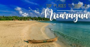places to visit in nicaragua to surf