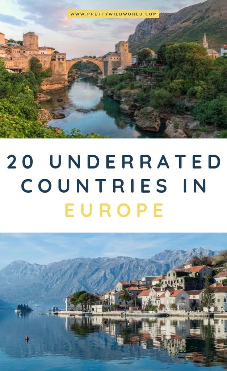 Underrated countries in Europe | Underrated travel destinations | Europe travel tips | Travel bucket list | Travel inspiration wanderlust | Europe tips | Europe travel destinations #europe #travel #traveldestinations #traveltips #bucketlisttravel #travelideas #travelguide #amazingdestinations #traveltheworld