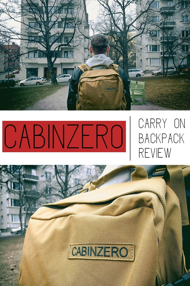 CabinZero backpack review | Best carry on luggage | cabin approved luggage | best backpacking backpack | 44L backpack for travel | best backpack recommendation | travel with only carry on backpack