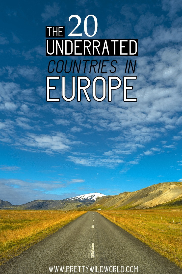 Underrated countries in Europe | Underrated travel destinations | Europe travel tips | Travel bucket list | Travel inspiration wanderlust | Europe tips | Europe travel destinations