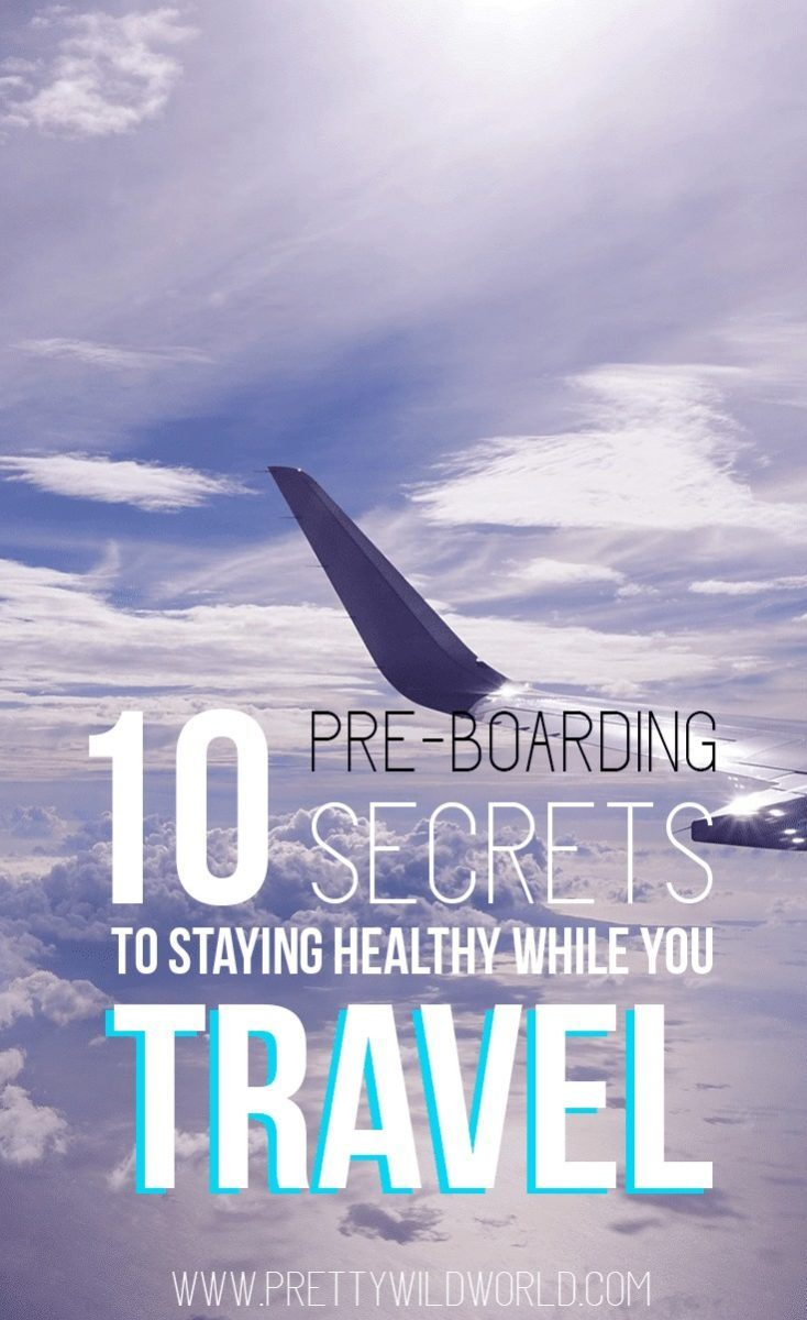 Avoid getting sick while you're traveling through these useful travel tips and tricks to stay healthy while you fly! Don't let germs ruin your wonderful holiday by following these pre-boarding secrets to stay healthy.