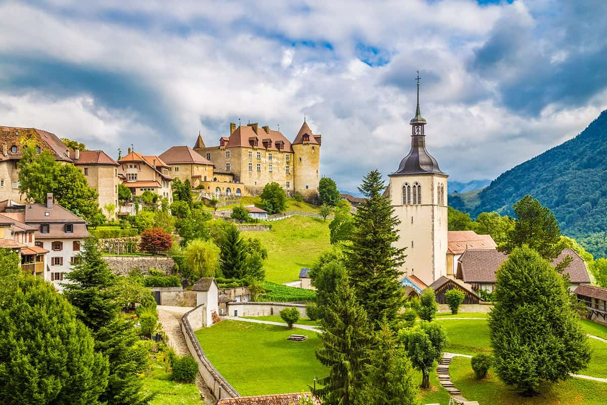 Places to Visit in Europe, Gruyeres, Switzerland