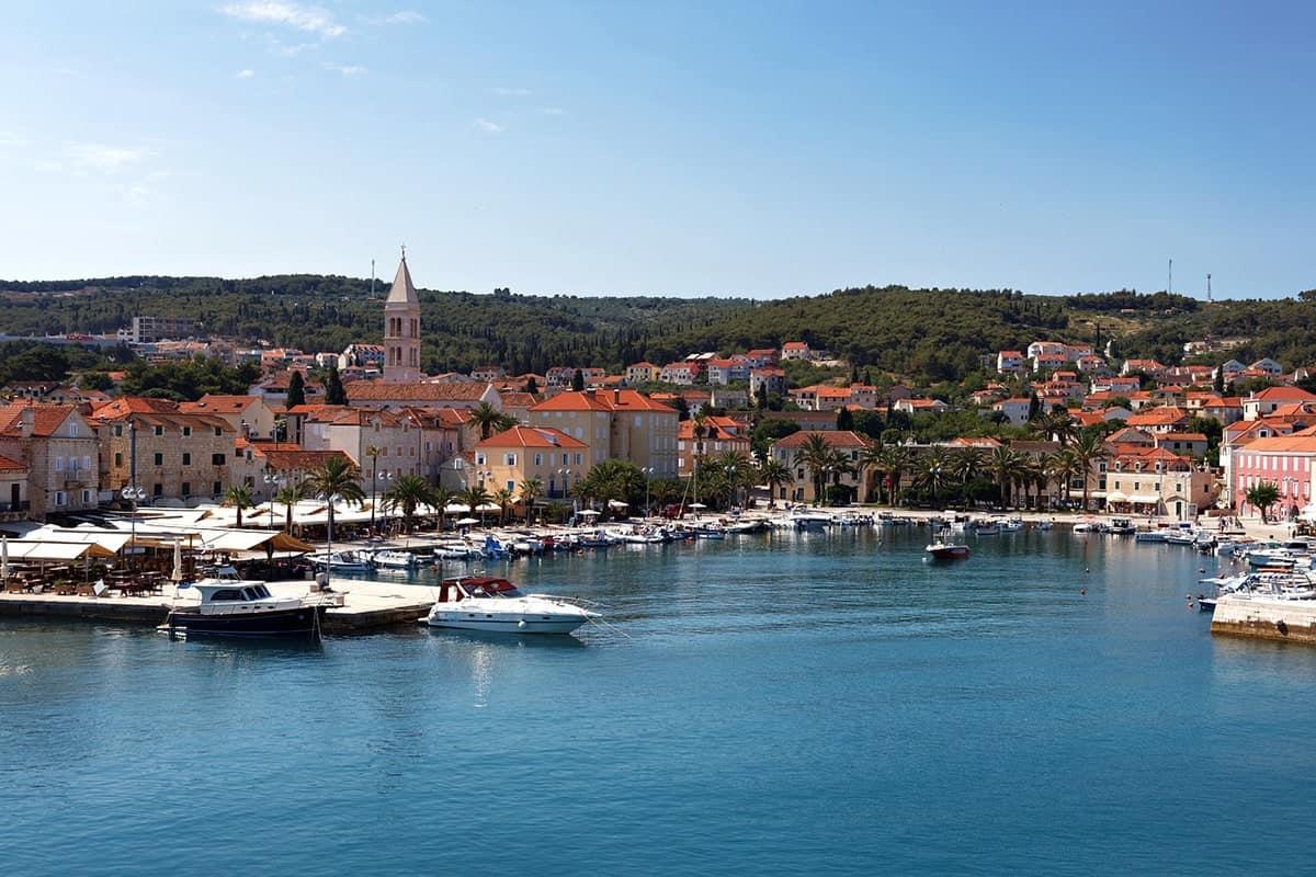Hvar Town in Croatia