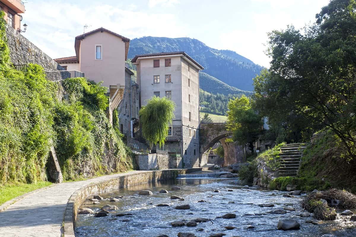 Places to visit in Europe in Potes, Spain