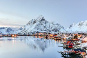 FAIRYTALE TOWNS AND VILLAGES IN EUROPE Reine Norway