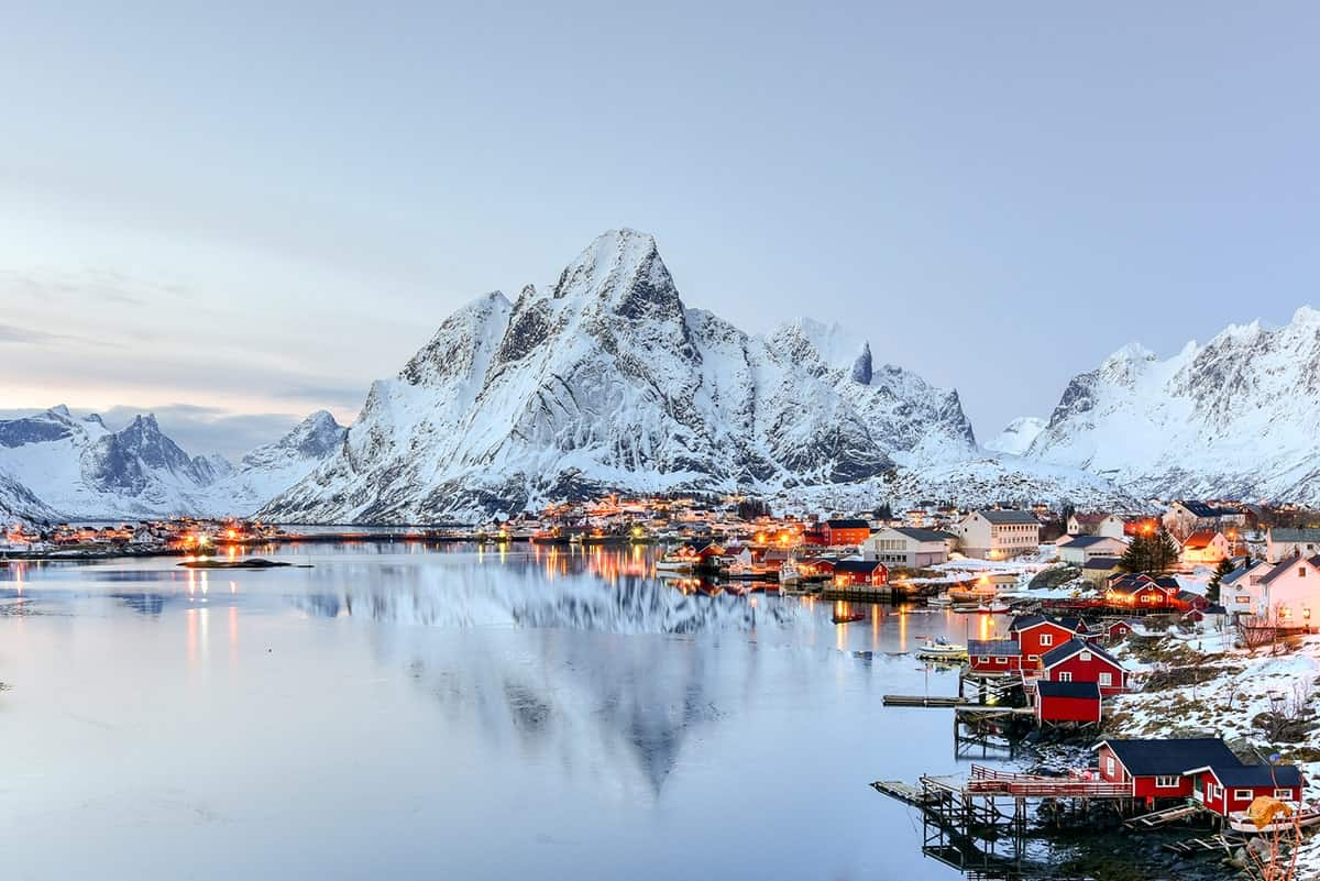 Places to Visit in Europe, Reine, Norway