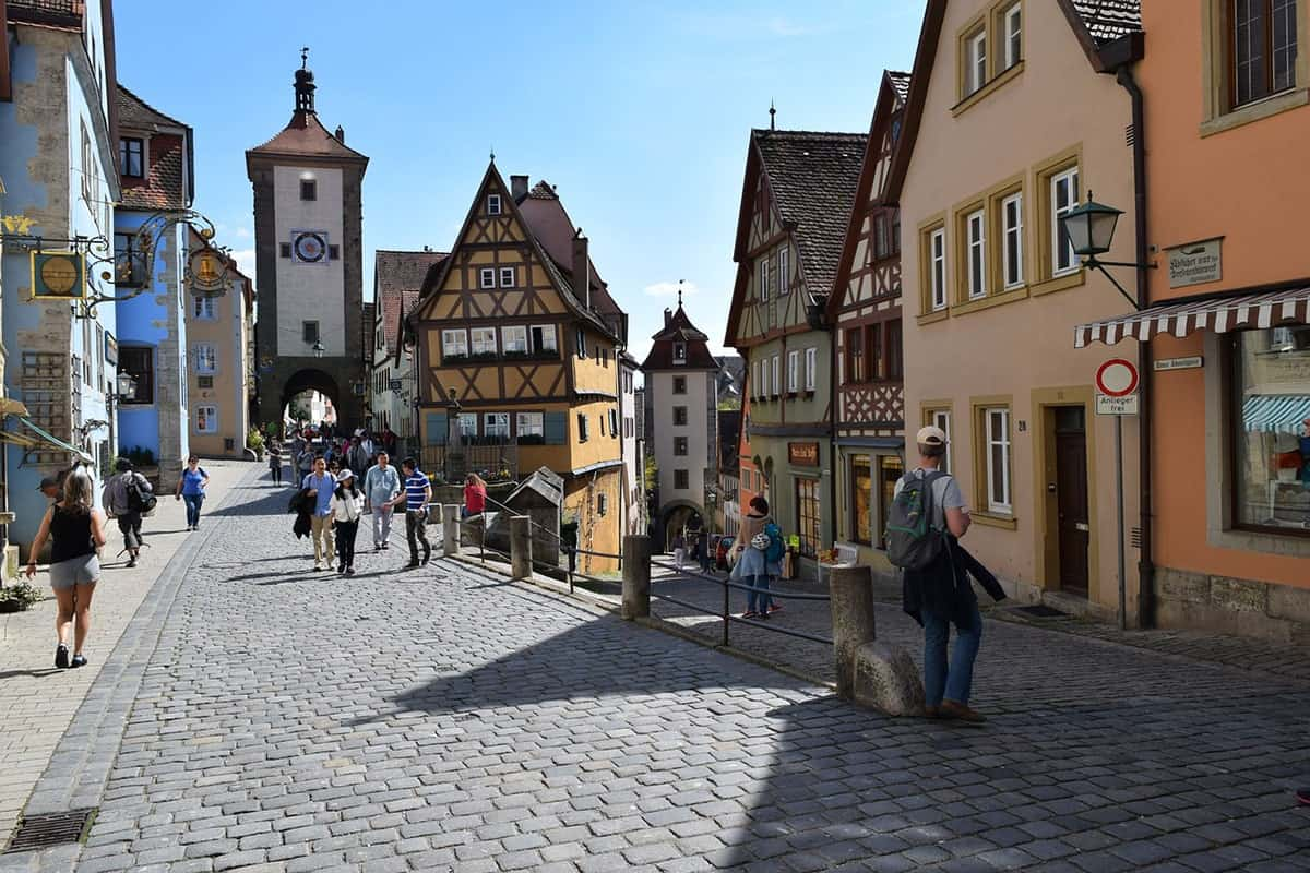Places to Visit in Europe, Rothenburg, Germany