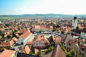 FAIRYTALE TOWNS AND VILLAGES IN EUROPE Sibiu Romania