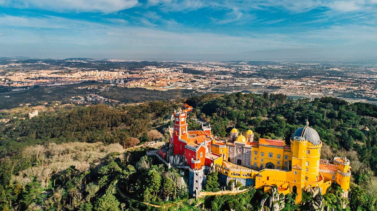 Sintra in Portugal, Europe