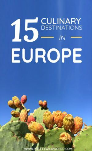 Top culinary destinations in Europe | culinary vacations | food travel | cooking vacations | foodie vacations | Europe travel | where to eat in Europe | Where to go in Europe #EUROPE #CULINARYDESTINATIONS #FOODIEDESTINATIONS