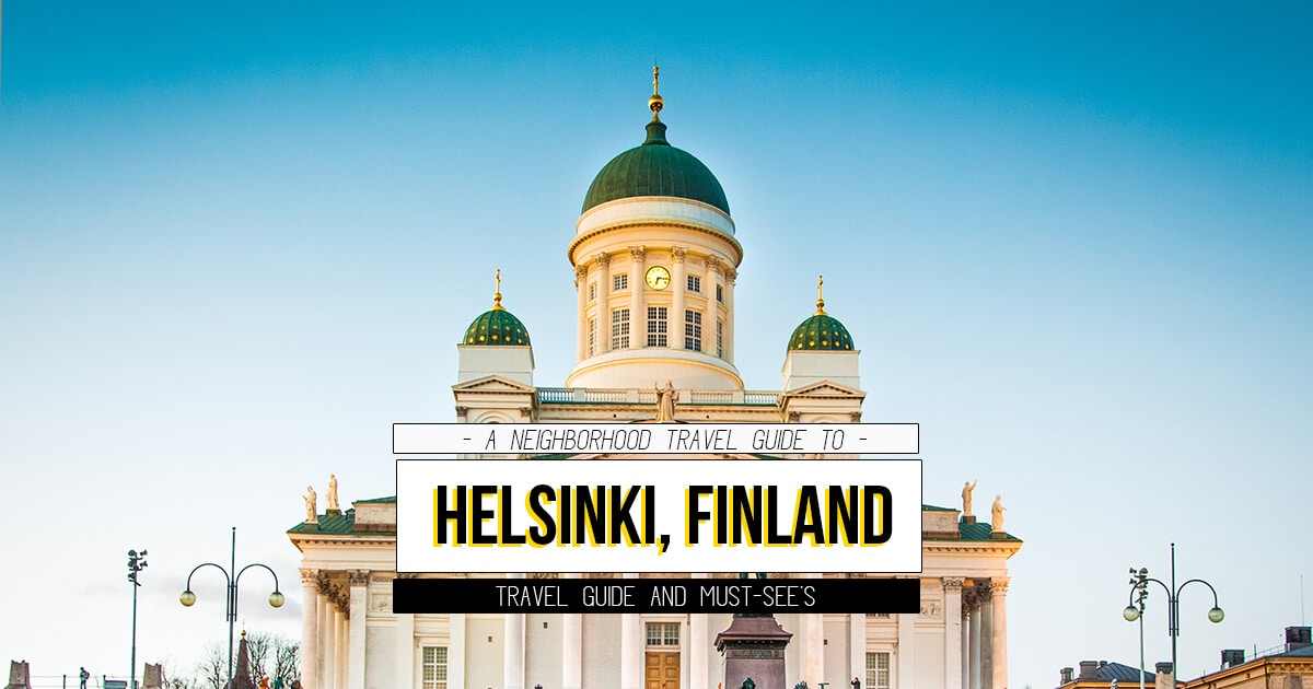 A Neighborhood Guide to Helsinki, Finland