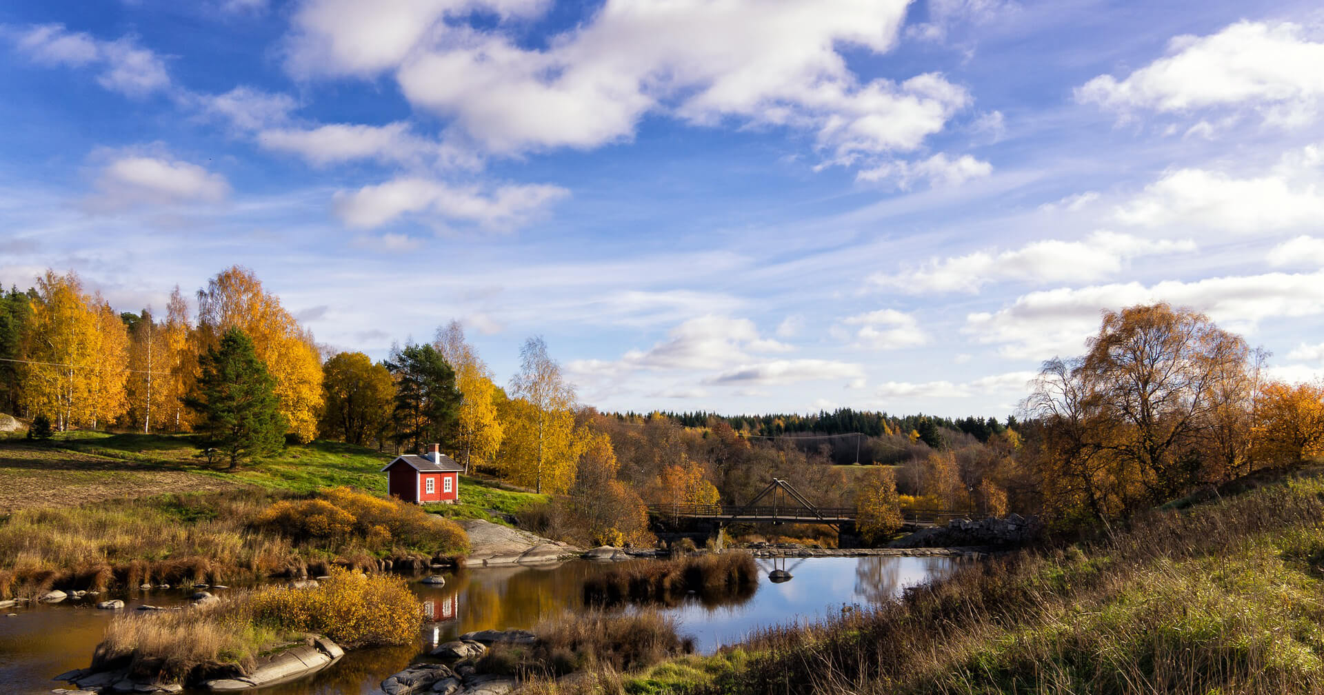A view of the Finnish country side