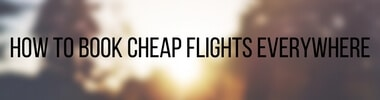 how to book cheap flights everywhere tag
