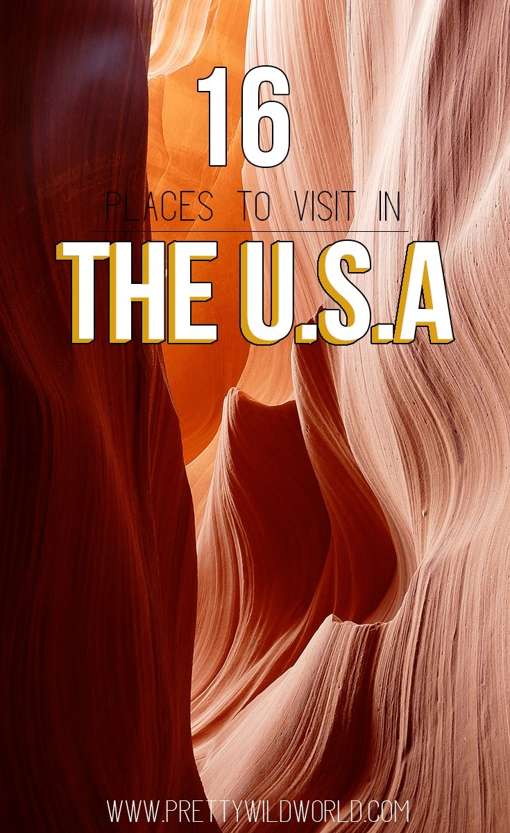 The Best Places to Visit in USA | travel bloggers share their travel experience and recommendations about the places to visit in the United States of America. They also shared some of the best attractions to see, fabulous vacation spots, insider tips and tricks, and more! Check it out or pin it for later!