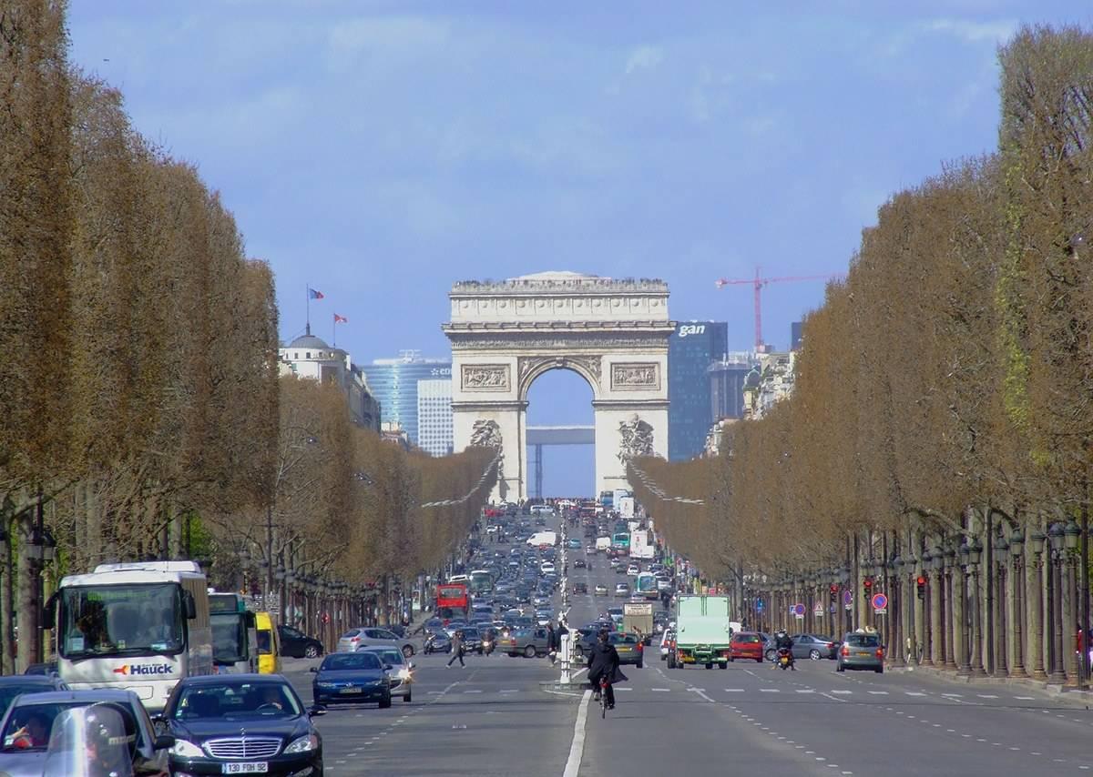 The Champs-Elysées