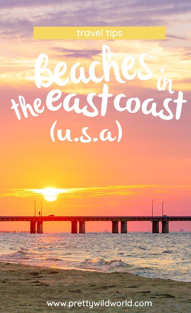 Best beaches by the East Coast, U.S.A | Recommended beach in the East Coast | Wrightsville Beach | Point Pleasant Beach | Pickering Beach | Sandbridge Beach | Chesapeake Beach