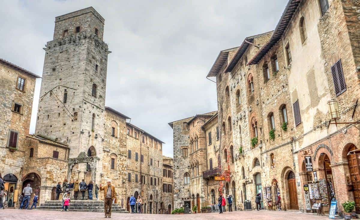 Florence tourist attractions - San Gimignano