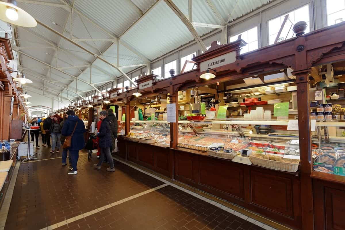 Helsinki market halls